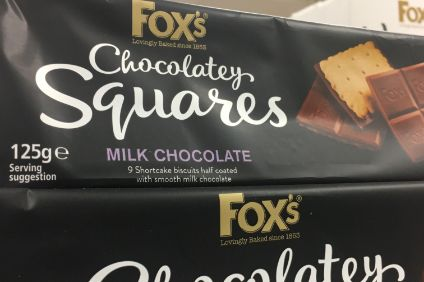 Why might have Ferrero reached into tin for Foxs Biscuits?