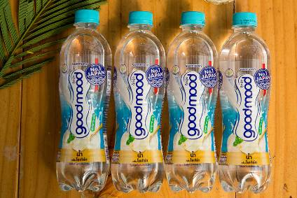 Suntory launched its Goodmood 'water plus' brand in several Asian markets earlier this year