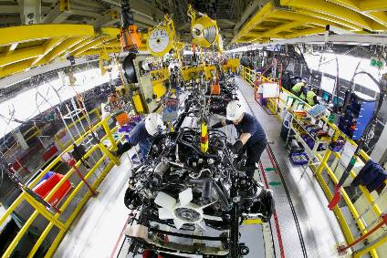 Toyota has ten manufacturing plants in the US that employ over 36,000 workers