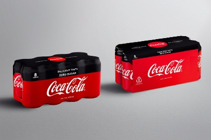 Coca-Cola European Partners ditches multipack shrink wrap in new plastics pledge