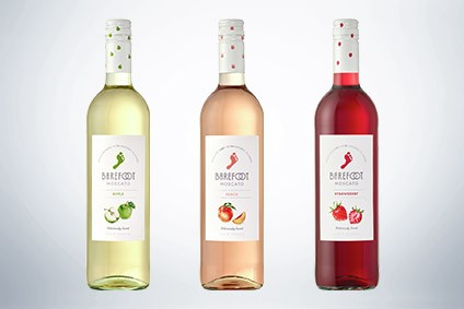 E&J Gallo Winery's Barefoot Fruit Moscato range - Product Launch