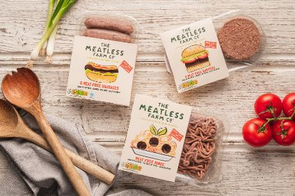 The Meatless Farm has won investment from UK broadcaster Channel 4