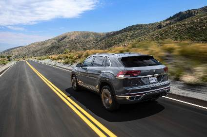 Volkswagen Unveils The Atlas Cross Sport Suv Coupe
