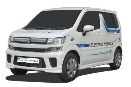 Maruti Suzukis Wagon R-based EV has been testing on India roads since late 2018