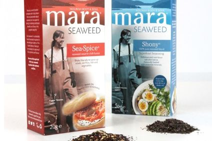 New products - first vegan product from Mrs Crimble's; Mara Seaweed gets major UK listing