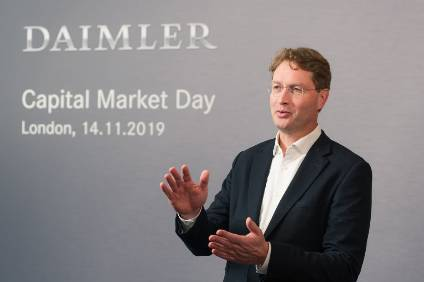 Ola Källenius was speaking in London at an event for investors