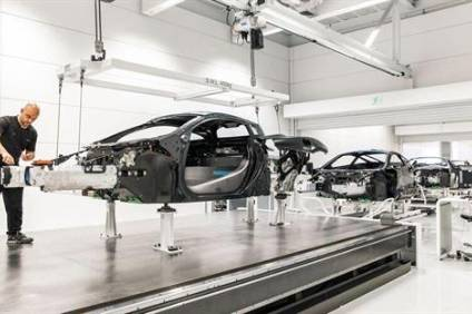 McLaren production. The company is selling and leasing back its HQ to raise cash