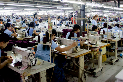 Clothing, footwear and handbags are Myanmars second largest export sector