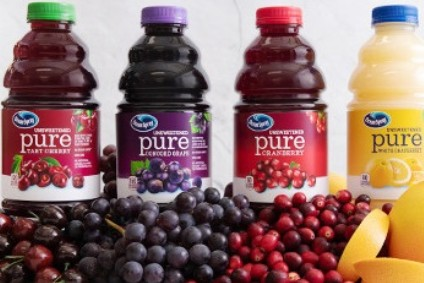Ocean Spray's Pure Fruit Juice flavours - Product Launch