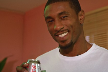 Love Island star - and professional basketballer - Ovie Soko fronts the new Diet Coke ad