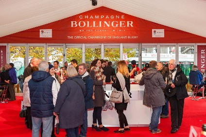 Champagne Bollinger Extends England