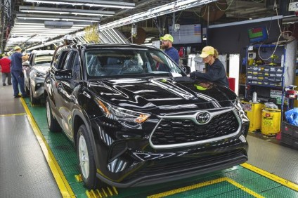 Indiana recently began assembling the redesigned 2020 Toyota Highlander