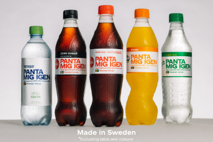 Sweden is the first country in the Coca-Cola network to produce only 100% rPET bottles