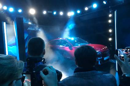 Ford electric Mustang Mach-E debuts