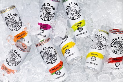 The leading hard seltzer brand in the US, Mark Anthony Brands White Claw, was gearing up for increased sales this year