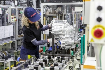 Transaxle production was added recently at Toyota Motor Manufacturing Poland (TMMP) in Walbrzych and Jelcz-Laskowice where production was suspended on 18 March as TME temporarily shuttered European manufacturing
