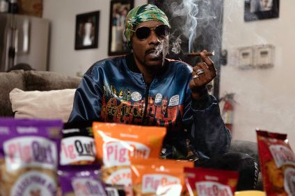 Snoop-Dogg with the PigOut range