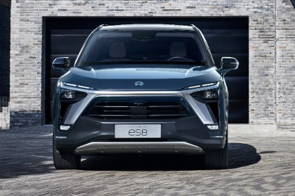 Nio started selling the updated ES8 six and seven seat EV SUVs in April