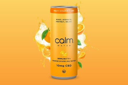 UK-based Calm Drinks unveiled Calm Water Immunity+CBD last month