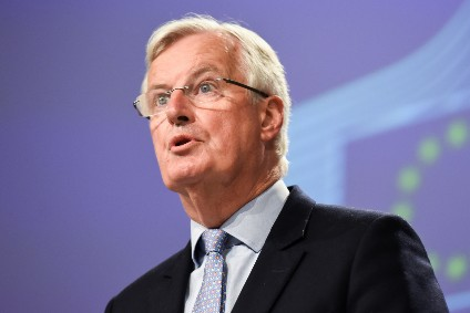 EU negotiator Michel Barnier - said to be unhappy with UK over speciality foods stance