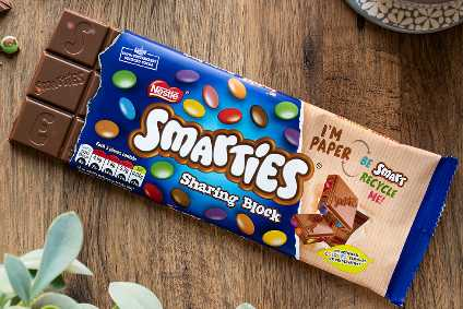"Nestle ""looking at more sustainable packaging solutions for confectionery that can have an impact now"""