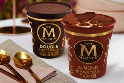Unilever sells ice-cream brands including Magnum in China