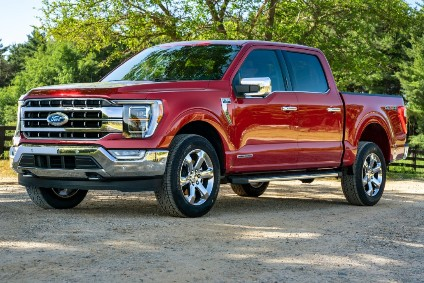 Ford is part-building and parking new F-150s until chip supply catches up