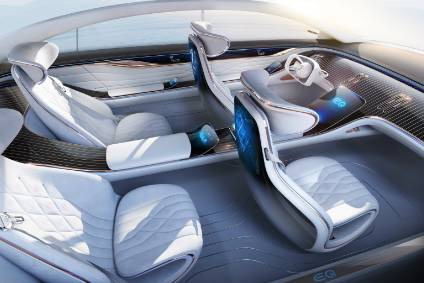 Mercedes-Benz VISION EQS provides an outlook on a concept for a fully-electric vehicle in the luxury class.
