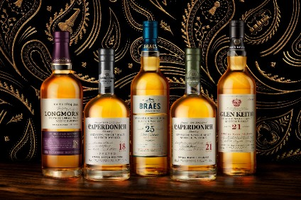 Pernod Ricard's Secret Speyside single malts expand to UK
