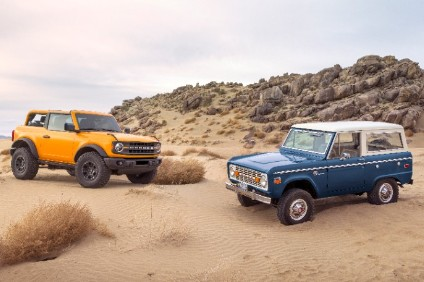 Bronco launched this week to critical acclaim revives the nameplate of the popular offroader Ford sold between 1965 and 1996. It was effectively succeeded by the Explorer