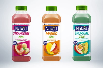 PepsiCo has launched Naked Zing in the UK