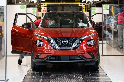 Latest Juke continues to be built in Nissans Sunderland plant in north east England