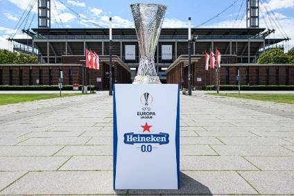 Heineken 0.0s sponsorship of UEFAs Europa League is the biggest by a single no-alcohol beer brand