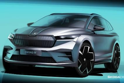 Snapshot Skoda Designer Discusses Enyaq Iv Suv Automotive Industry Interview Just Auto