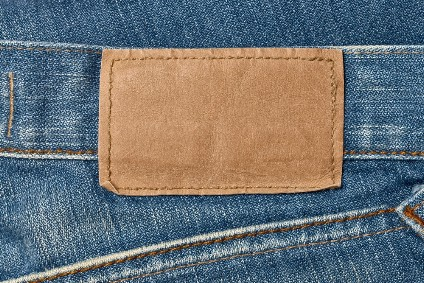 Texon Vogue Sahara is a beige material, certified for jacron applications including jeans labels