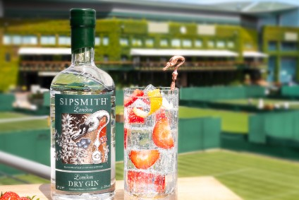 Beam Suntory signs Wimbledon tie-up for Sipsmith Gin