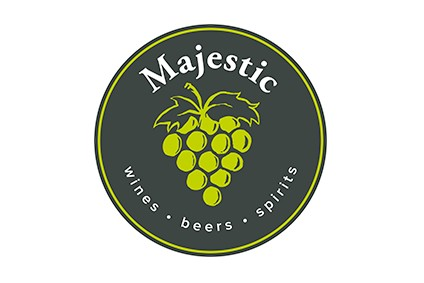 The new logo for Majestic marks a return to the grapes motif replaced by a wine glass two years ago