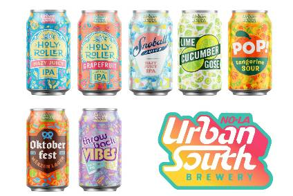 Urban South Brewery gets packaging overhaul - Beer in the US data