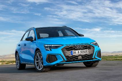 Audi sees its A3 plug-in hybrid variant with 41 miles of all-electric range as an attractive proposition for daily commuting and city driving