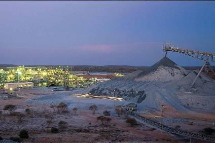 BHP nickel mining operation in Australia