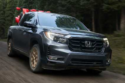 Redesign from windscreen forward gives Hondas US truck a tougher look