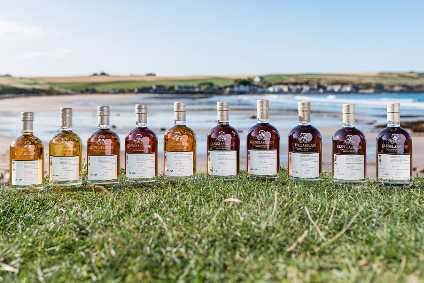 Brown-Forman's Glenglassaugh Coastal Casks collection - Product Launch