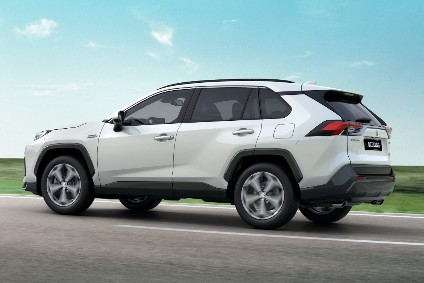 RAV4 PHEV has been lightly restyled for Suzuki
