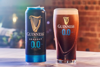 Diageo adds to non-alcoholic beer portfolio with Guinness 0.0