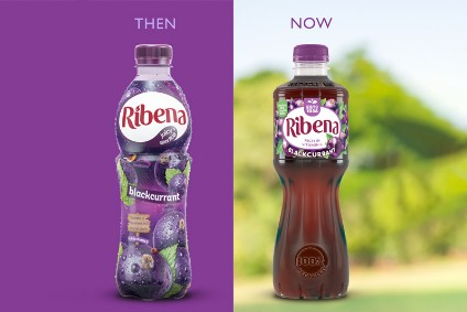 Suntory revamps Ribena bottle to aid recycling