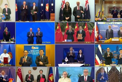 Deal involves ten ASEAN countries, Australia, China, Japan, South Korea and New Zealand