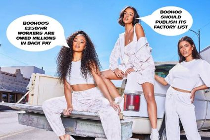 Boohoo criticised in spoof Black Friday media campaigns