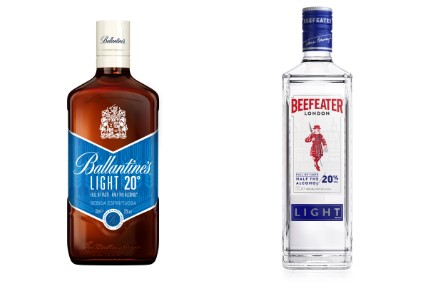 Pernod Ricard unveils 20%-abv Beefeater Light, Ballantine's Light