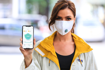 Hirdaramani claims the BreathTech-S³ mask is the worlds first sustainably designed smart face mask