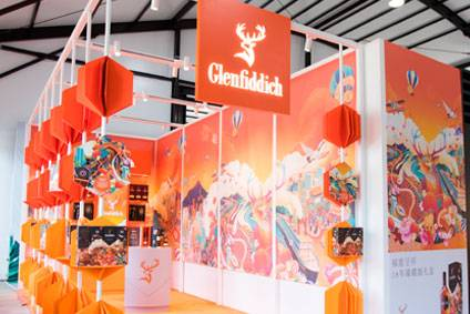 William Grant & Sons backs Travel Retail in China with New Year Glenfiddich pop-ups